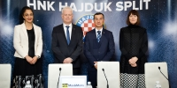 Founded on the same day: Hajduk and Max&Moris signed a sponsorship contract