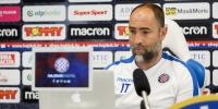 Trener Tudor uoči utakmice Hajduk - Varaždin