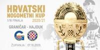 Hajduk u 1/16 finala Kupa igra protiv Graničara u Županji