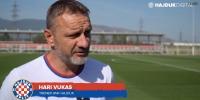 Trener Hari Vukas uoči utakmice Renova - Hajduk