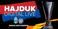 Hajduk Digital Live prije i nakon utakmice Renova - Hajduk 0:1