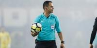 Fran Jović sudi utakmicu Hajduk - Varaždin