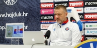 Trener Vukas uoči utakmice Gorica - Hajduk