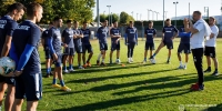 Trener Hari Vukas uoči utakmice Kupa u Županji