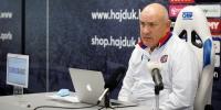 Trener Primorac uoči utakmice Slaven Belupo - Hajduk