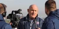 Trener Hajduka Boro Primorac uoči Lokomotiva - Hajduk