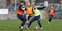 Trening uoči prve pripremne utakmice u Postirama