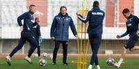 Hajdukovci prvi put trenirali pod vodstvom novog trenera Tramezzanija