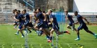 Hajdukovci trenirali na Lapadu