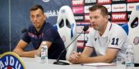 Trener Jens Gustafsson i kapetan Lovre Kalinić uoči početka nove sezone