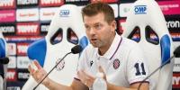 Trener Jens Gustafsson uoči utakmice Hajduk - Osijek