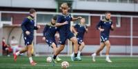 Juniori odradili trening u Skopju