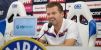 Trener Jens Gustafsson uoči utakmice Osijek - Hajduk
