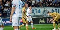 Lovrencsics:  I'm happy to have scored my first goal, but I'm not happy about the result