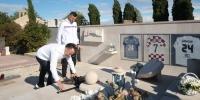 Predsjednik Jakobušić i Danijel Subašić položili cvijeće na grob Hrvoja Ćustića