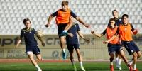 Juniori odradili zadnji trening prije uzvrata protiv Škendije (VIDEO)