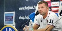 Trener Jens Gustafsson uoči utakmice Hajduk - Gorica