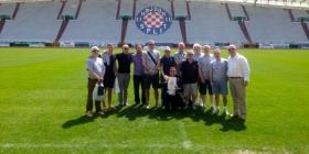 U posjetu Hajduku predstavnici najstarijeg živućeg engleskog kluba