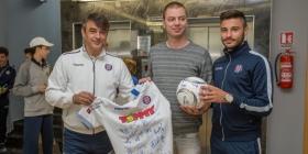 Hajduk donirao 19.000 kuna za obnovu Vodotornja u Vukovaru