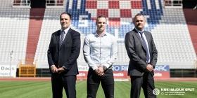 Predstavljeni savjetnici predsjednika Uprave HNK Hajduk Ivana Kosa