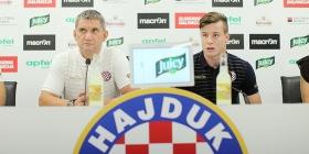 Konferencija za medije trenera Marijana Pušnika i Zvonimira Kožulja
