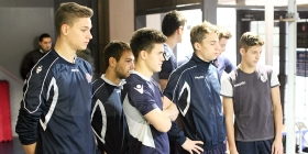Hajduk II under tests at the Institute of Kinesiology