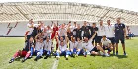 Juniori pobjednici Završnice nogometnih središta