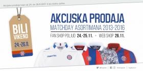 Bili vikend u Hajdukovom Fan shopu!
