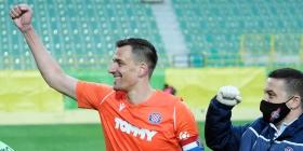 Lovre Kalinić nakon pobjede u Varaždinu...