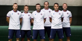 Jens Gustafsson presented his coaching staff