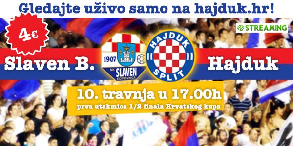 Slaven B. - Hajduk samo na hajduk.hr!