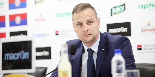 Konferencija za medije predsjednika Uprave HNK Hajduk Ivana Kosa