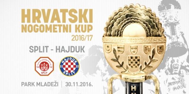 Hajduk protiv RNK Splita u četvrtfinalu Kupa