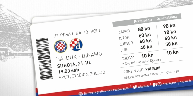 Ticket for the upcoming derby now on sale