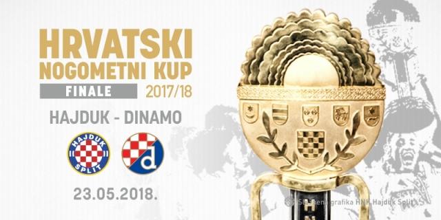 Hajduk vs Dinamo in Croatian Cup final