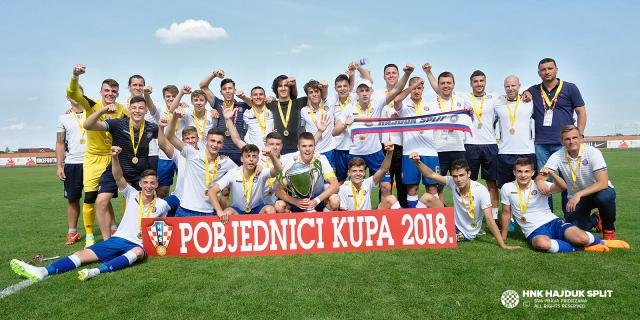 Hajduk U-17 Croatian Cup winners!