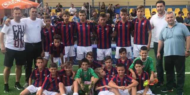 Mlađi pioniri iz dopunske selekcije osvojili Šparta cup u Zagrebu