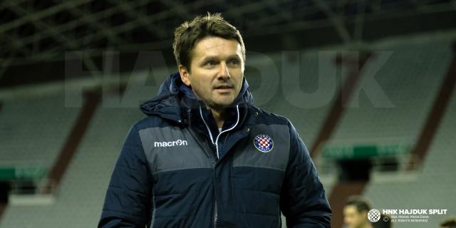 Coach Oreščanin's post-match press conference
