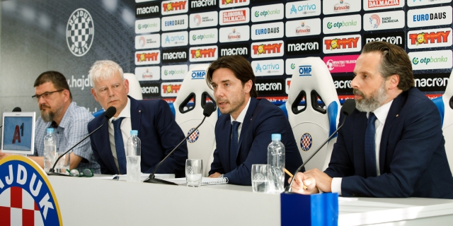 Konferencija za medije čelnika HNK Hajduk