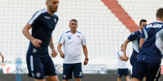 Bijeli odradili prvi trening pod vodstvom trenera Burića