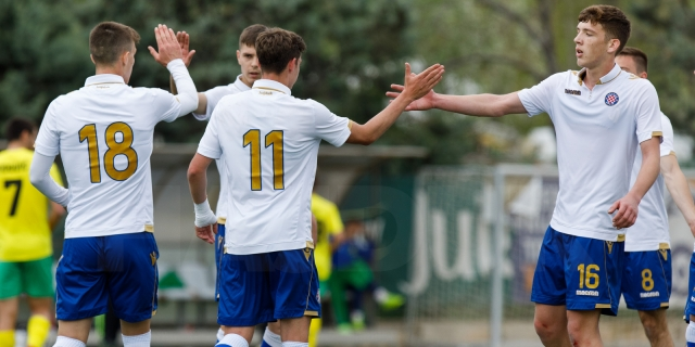Nine Hajduk players called up to Croatia U-19