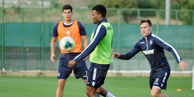 Pripreme za Inter: Eduok se vratio treninzima