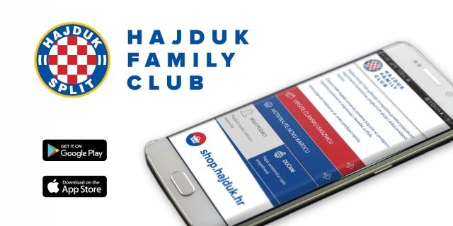 Postanite dio najveće navijačke obitelji i kroz Hajdukov program vjernosti!