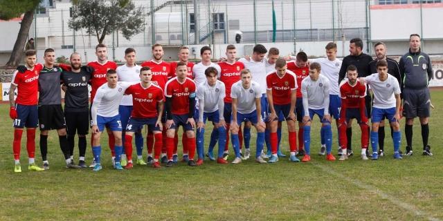 Pobjeda juniora Hajduka u Makarskoj