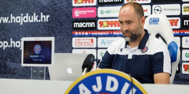 Trener Tudor uoči utakmice Dinamo - Hajduk