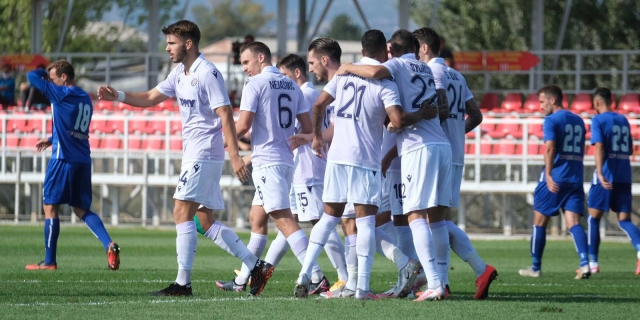 Skopje: Renova - Hajduk 0-1