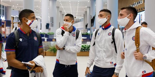 Nogometaši Hajduka stigli u Istanbul