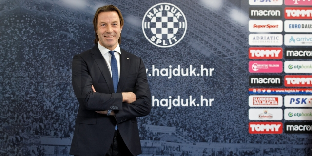 Paolo Tramezzani is the new coach of HNK Hajduk!