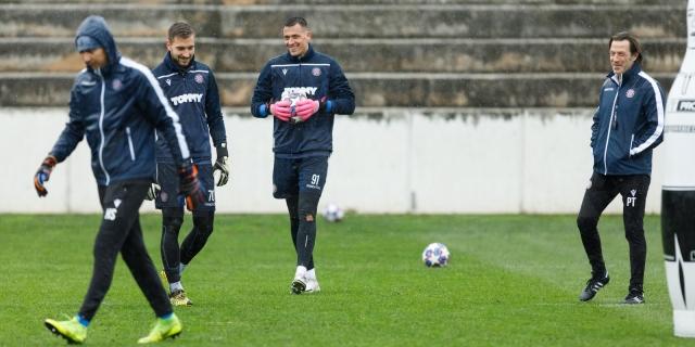 Trener Tramezzani i Lovre Kalinić uoči derbija na Maksimiru