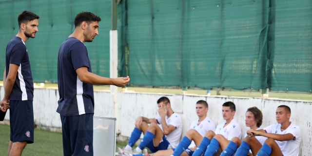 U-19 team's opening match against Hrvatski dragovoljac